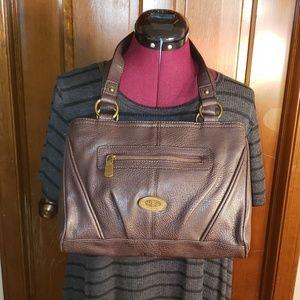 boc womens brown shoulder bag
